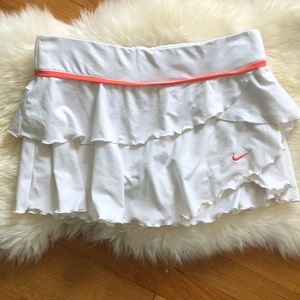 Nike ruffle running skirt